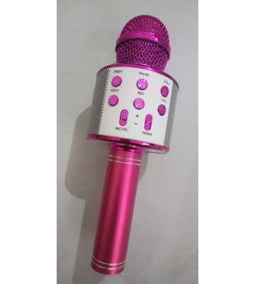 WS-858 Bluetooth Microphone, karaoke mic