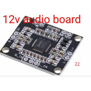 PAM8610 12V Two-channel Stereo Mini Class-D 10W+10W Audio Amplifier